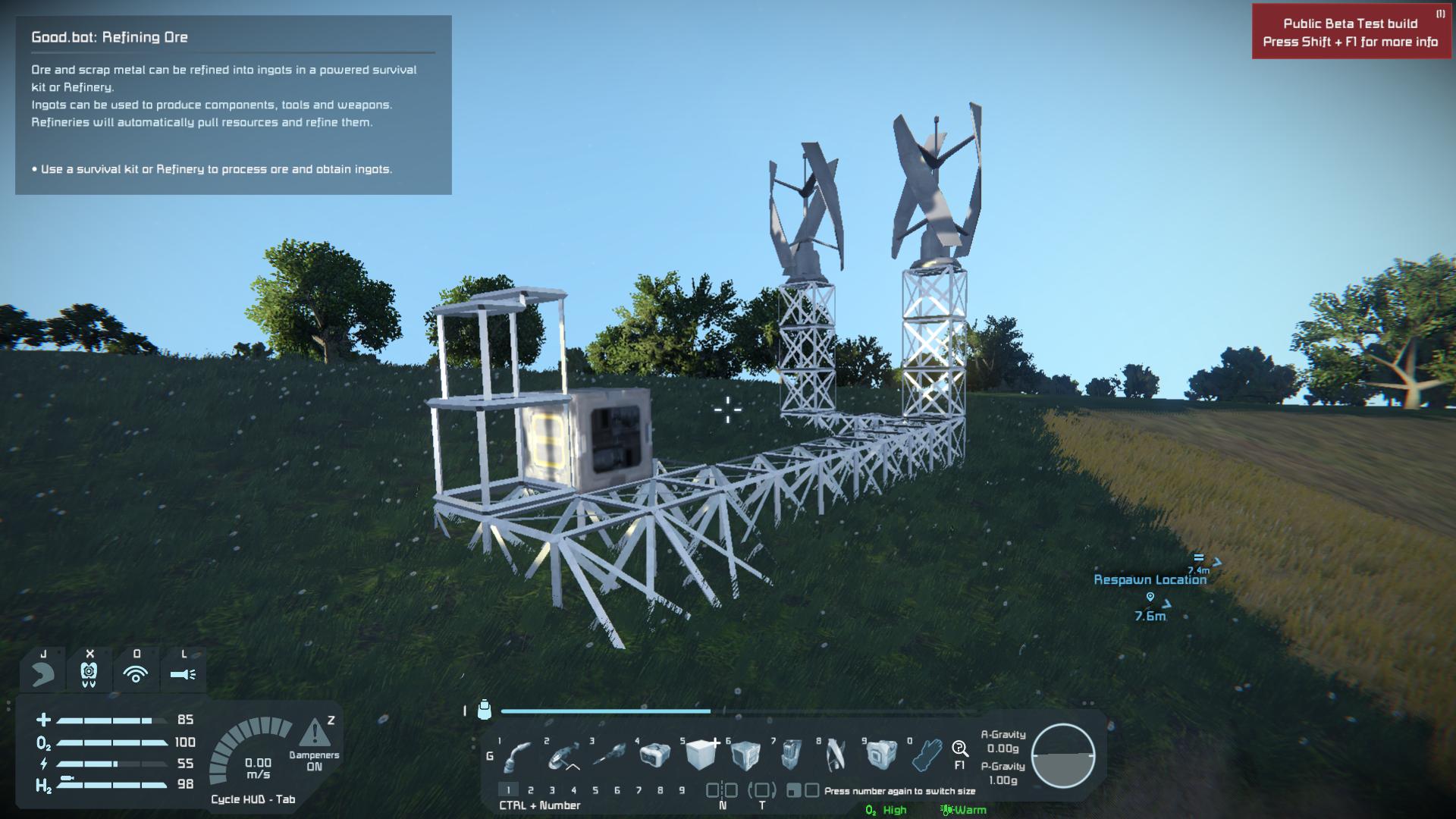 space engineers wind turbine max output